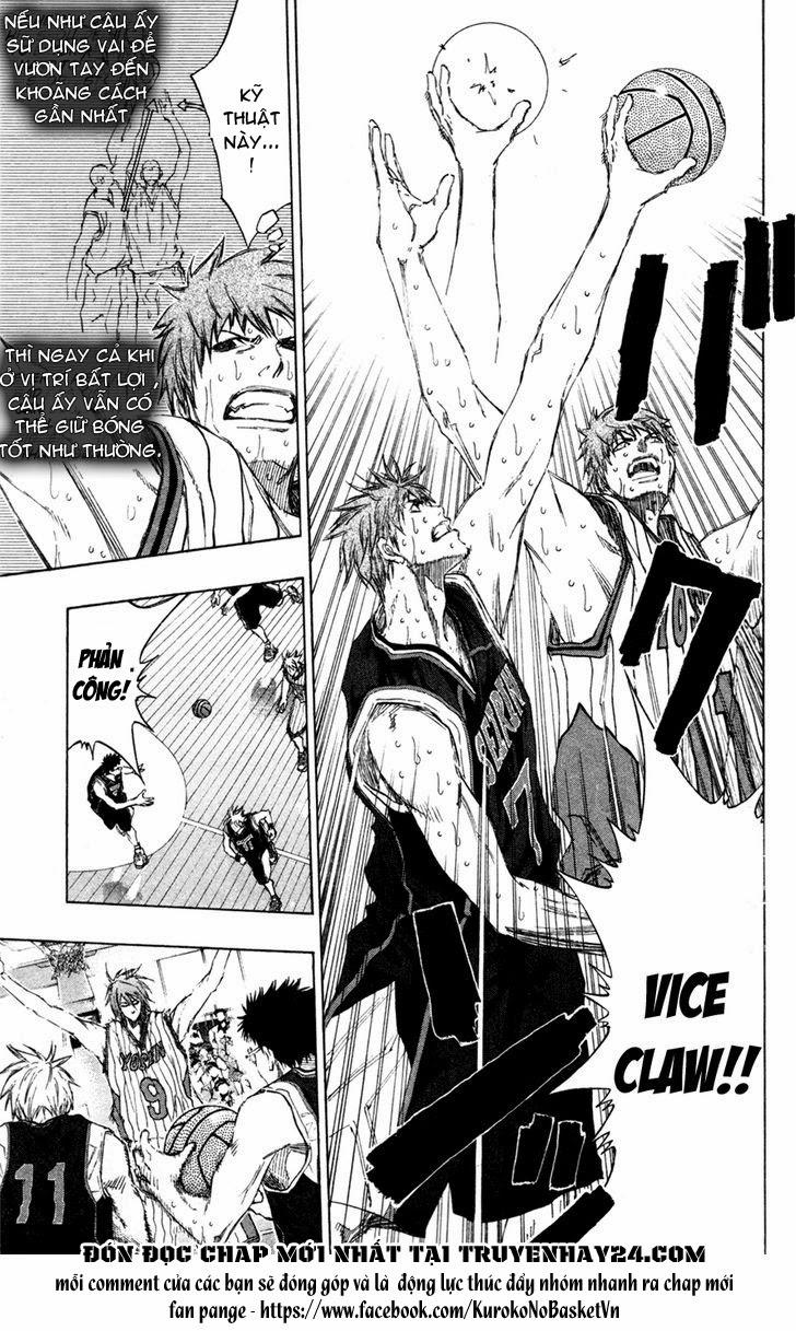 Kuroko No Basket chap 150 trang 3