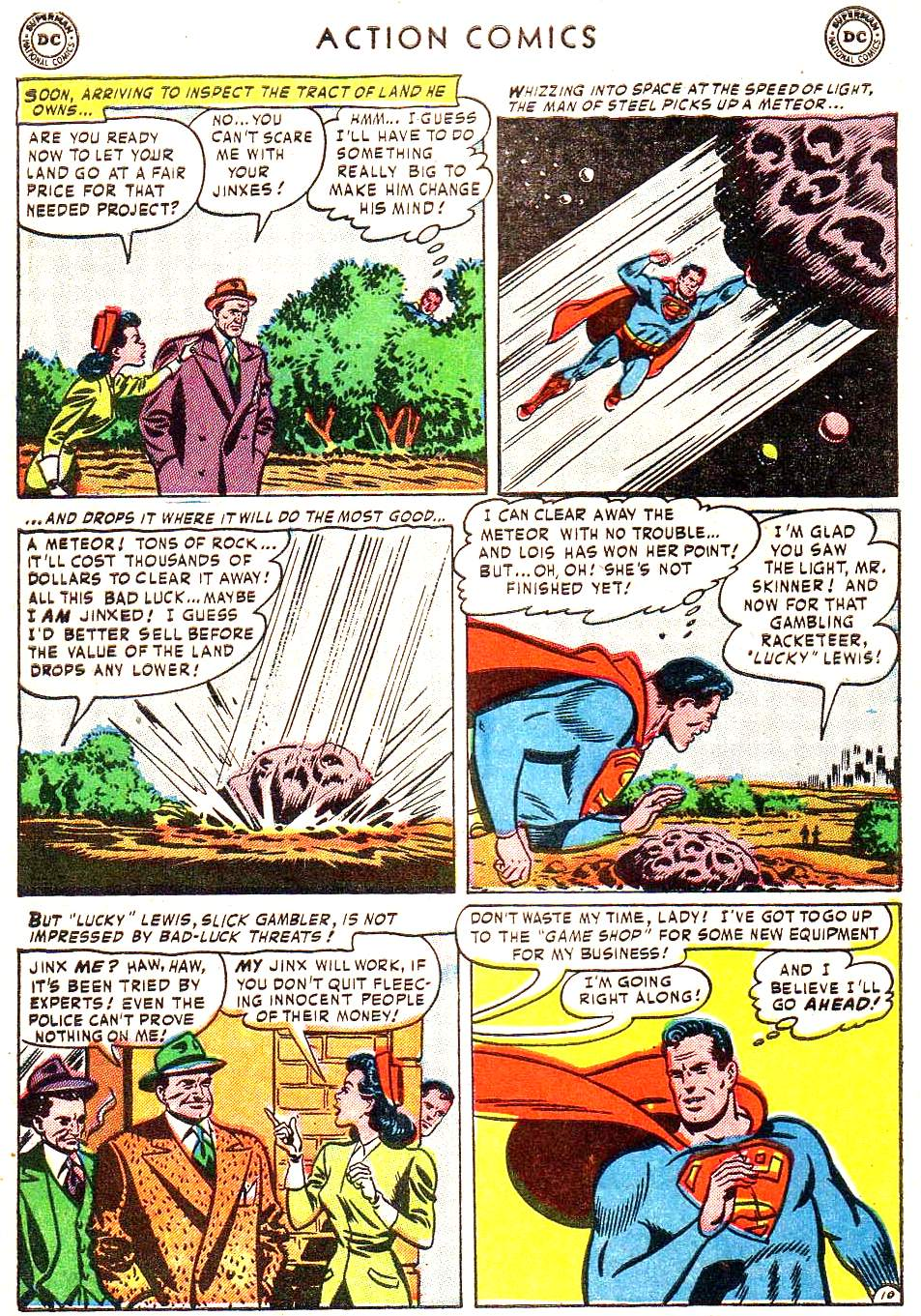 Read online Action Comics (1938) comic -  Issue #172 - 12