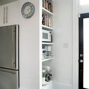 I Must Admit, The Picture Made Me Think Back To The First House I Owned  Which Had An Awkwardly Placed Refrigerator. The Side Of This Rather Ugly  Ice Box Was ...
