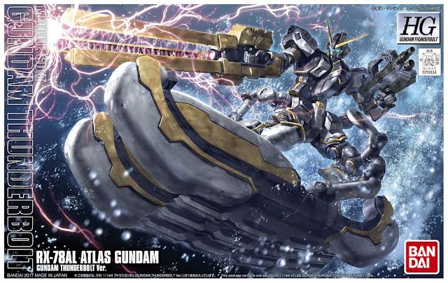 HG 1/144 RX-78AL Atlas Gundam Box art