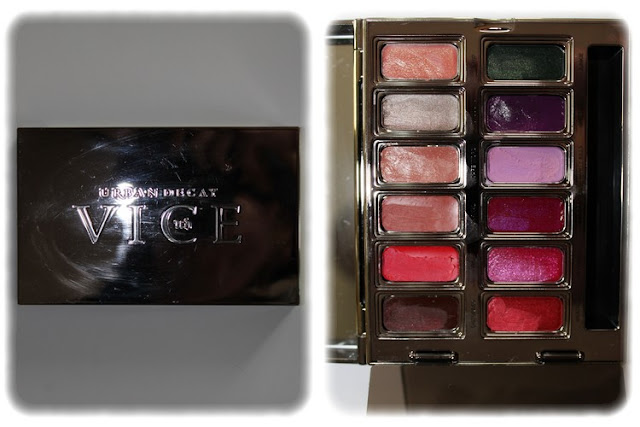 Swatch Palette Vice Lipstick Junkie - Urban Decay
