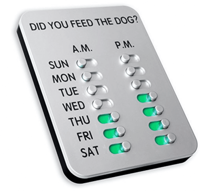 36 Genius Yet Inexpensive Products That Can Save Lives - This Dog Food Reminder Will Bring Peace of Mind to Your Home