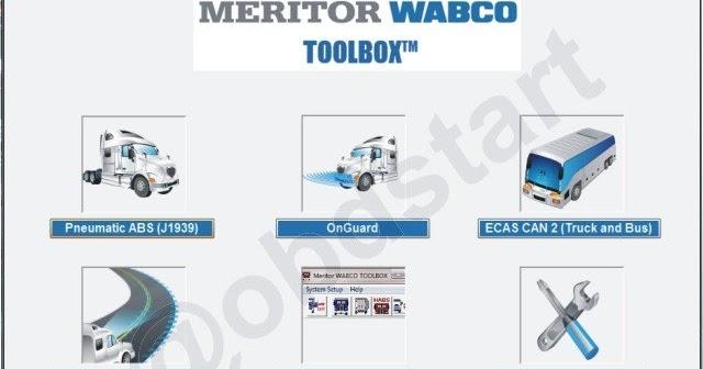 Free Auto Repair Manuals Software Wabco Meritor Toolbox