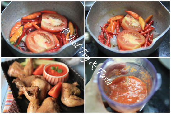 Resep Ayam Pop a la JTT | Just Try & Taste