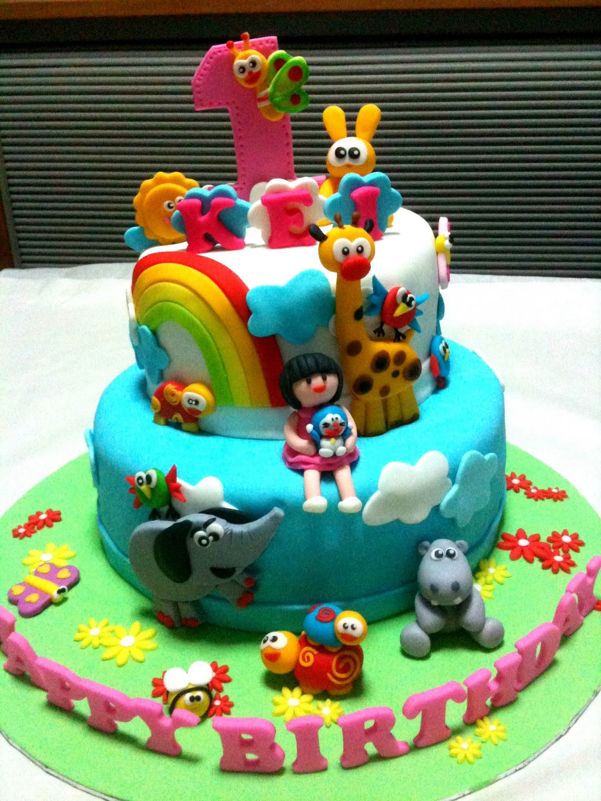 baby first birthday cake oven creations happy 1st birthday kei part 1 1425