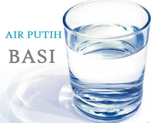 air putih bisa basi