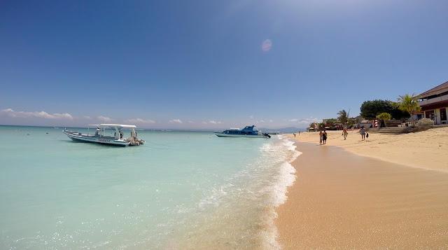 Coconut Beach à Nusa Lembongan