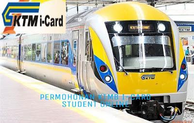 Permohonan Kad Diskaun Pelajar KTMB I-Card Student 2018 Online