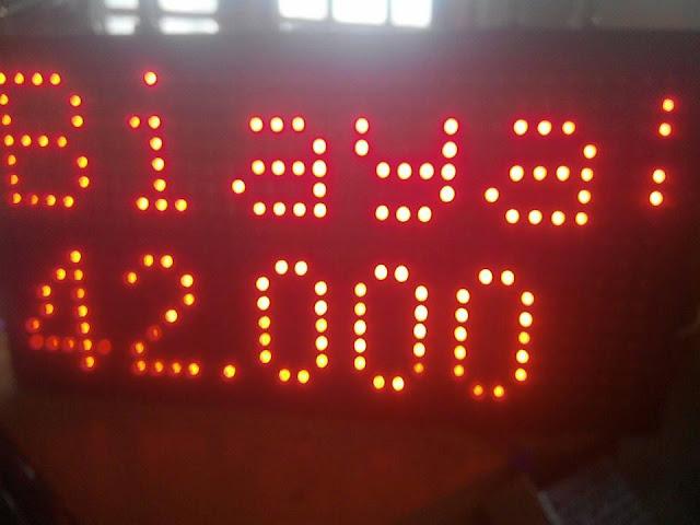 display info pembayaran  parkir