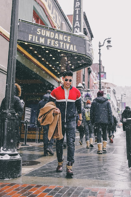 Leo Chan of Levitate Style at Sundance Film Festival | Menswear Outfits | What to Wear