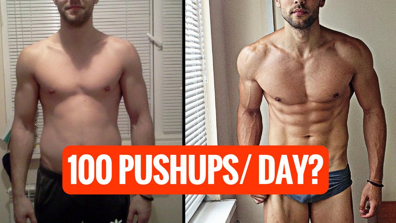 100 PUSH UPS EVERYDAY - Yeah or nah?
