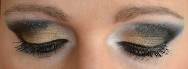 eotd, eye makeup look, wet n wild Fergie Centerstage Collection photo op eyeshadow palette in metropolitan nights