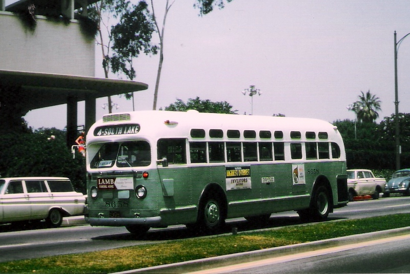 transpress nz: 1950s Mack C-49-DT bus, seen in San ... |Photos Old City Buses 1950