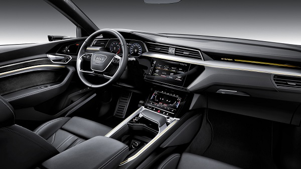 Interior Audi e-tron 2019
