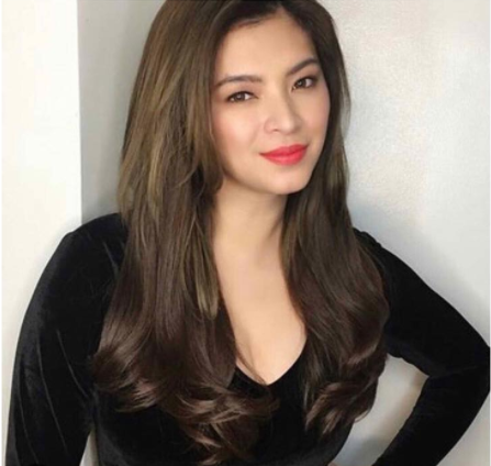Angel Locsin Shows Off Her No Makeup Look Topped By Her Naturally Beautiful Hair