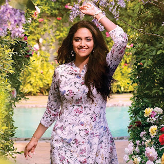 Keerthy Suresh in White Dress with Cute and Lovely Smile in Reliance Trends Ad