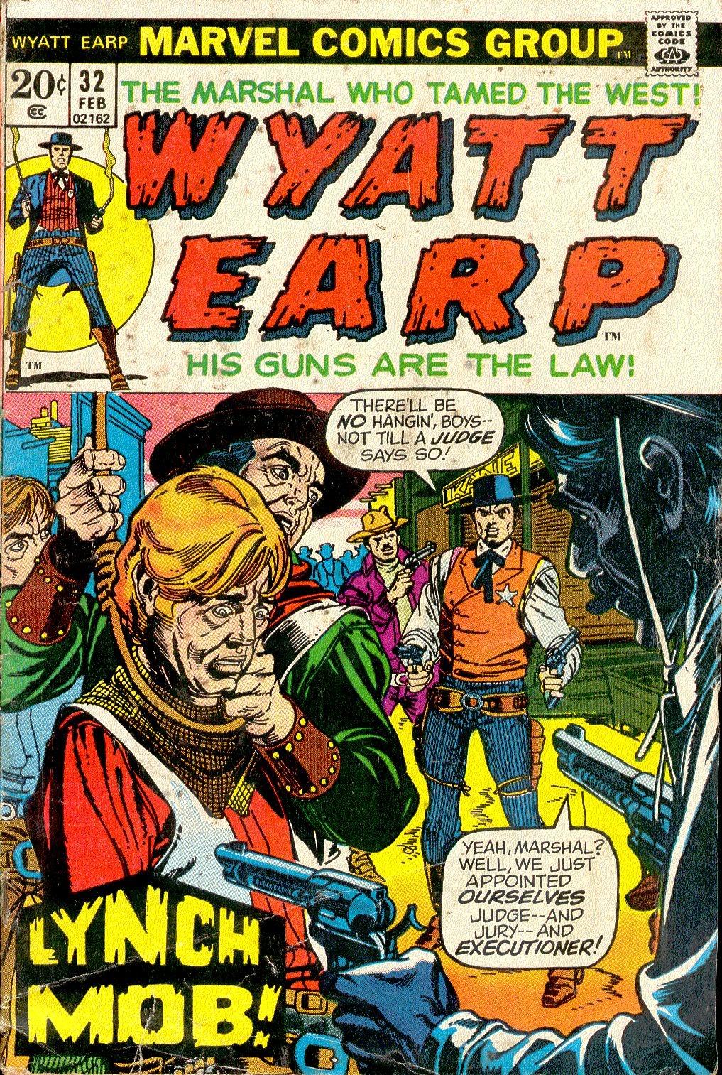Wyatt Earp issue 32 - Page 1