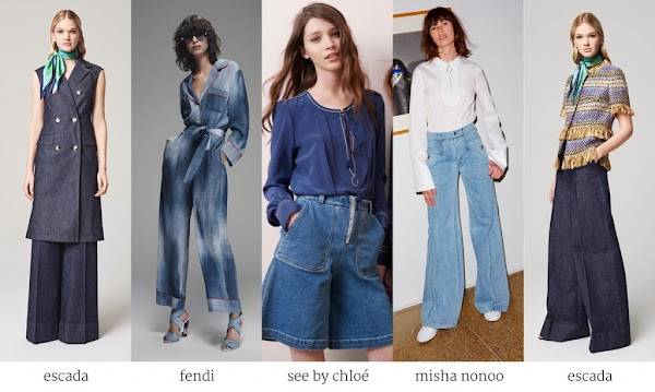 3 Ideas How to Wear the Denim Trend