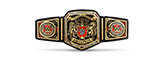 WWF United Kingdom title belt championship design