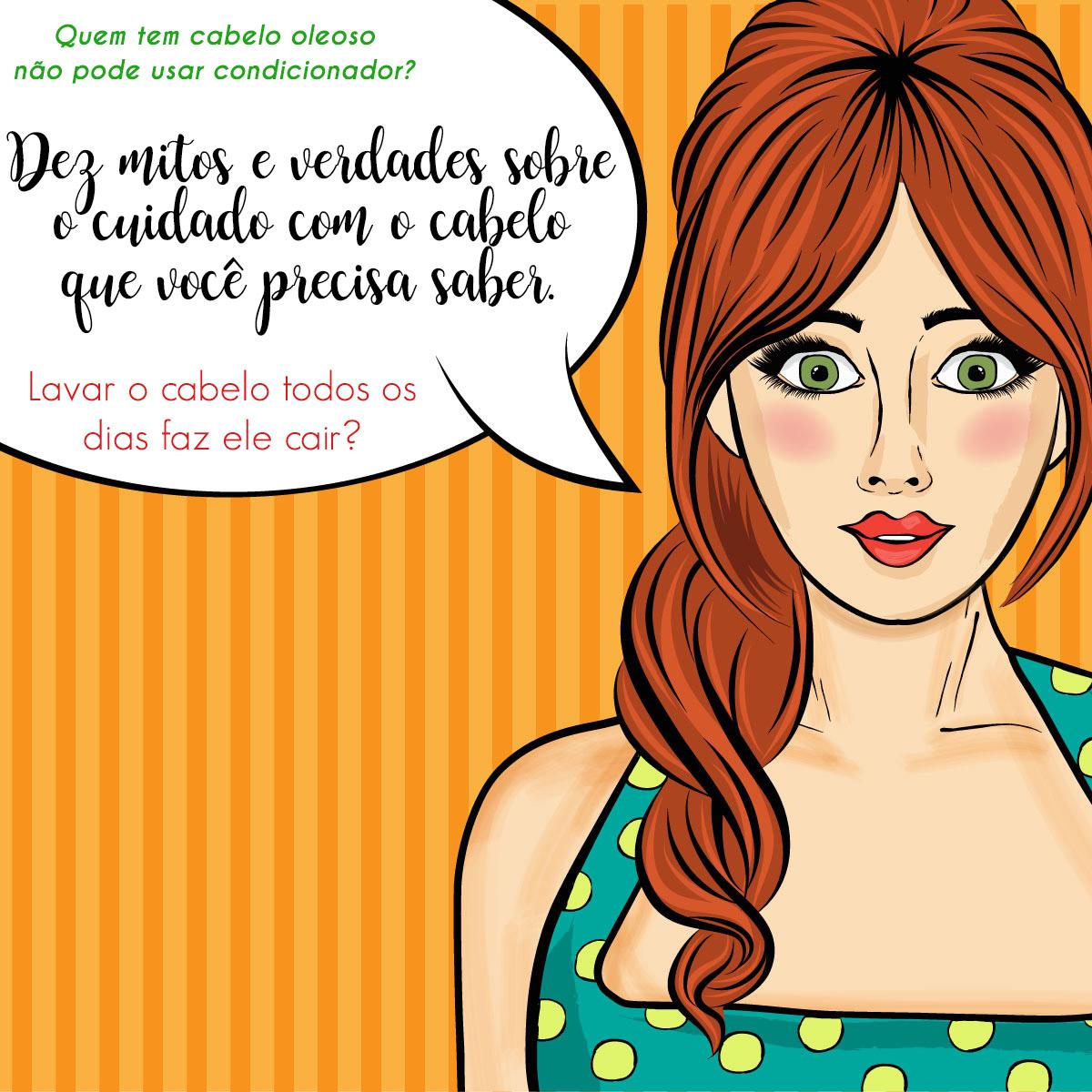 dez mitos e verdades sobre o cuidados com o cabelo que você precisa saber _ Mamãe de Salto