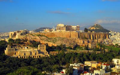 Acrópolis de Atenas. Grecia.