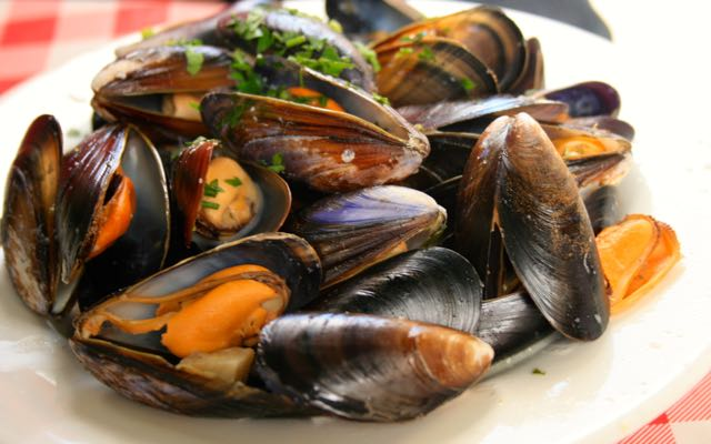 A plate of moules