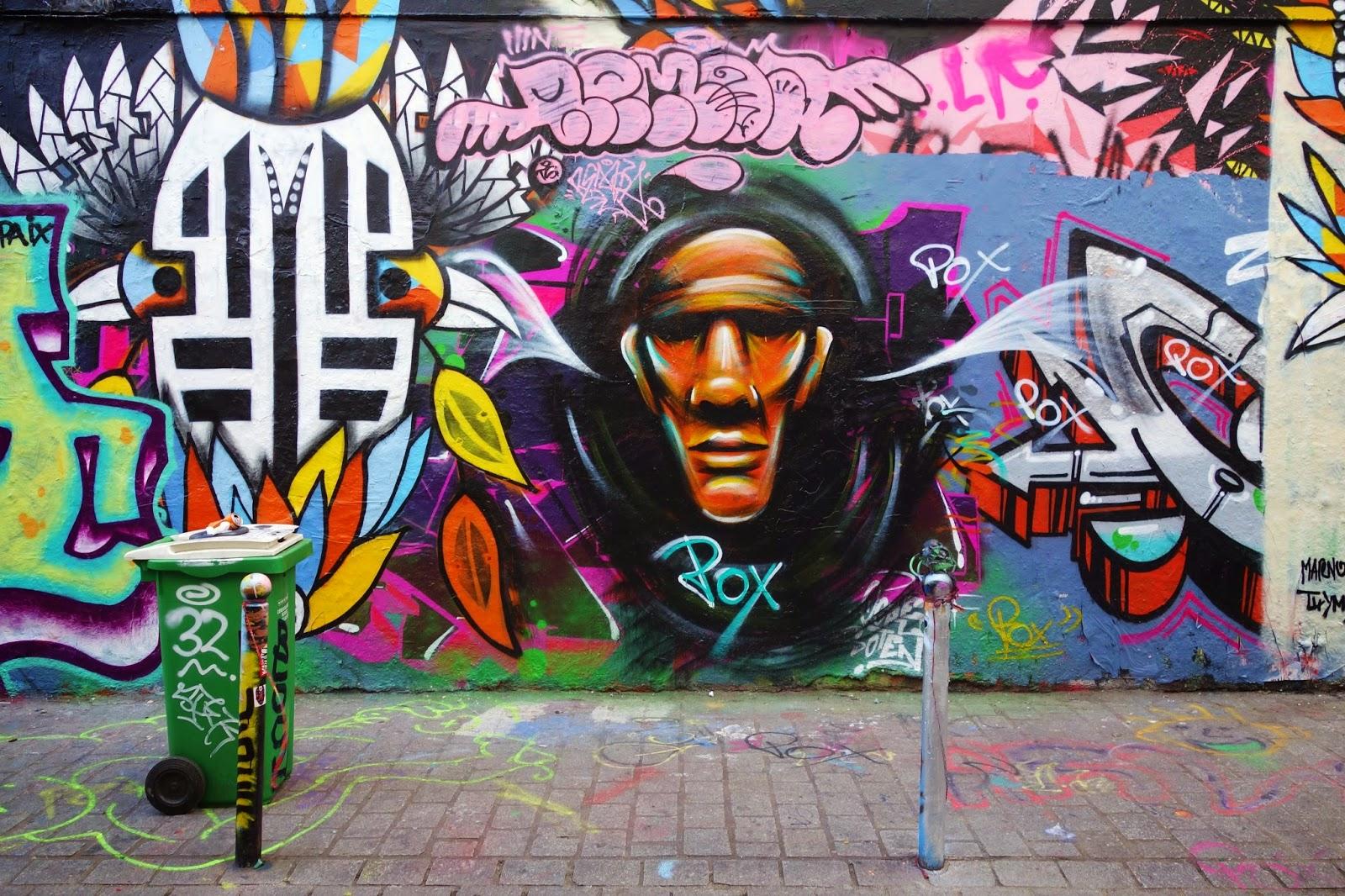 Sunday street art pox rue d noyez paris 20 paris la douce - Expo street art paris ...