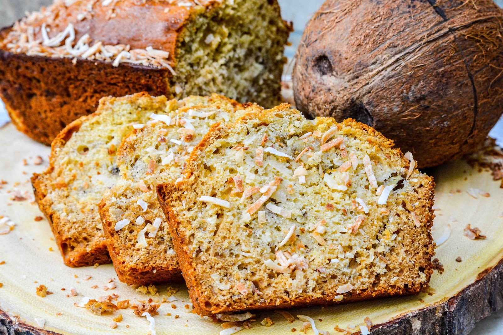 Tropical Banana Bread