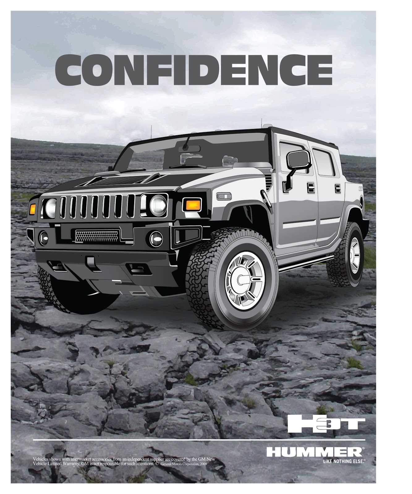 Hummer Ad Campaign Umair Creative Engine