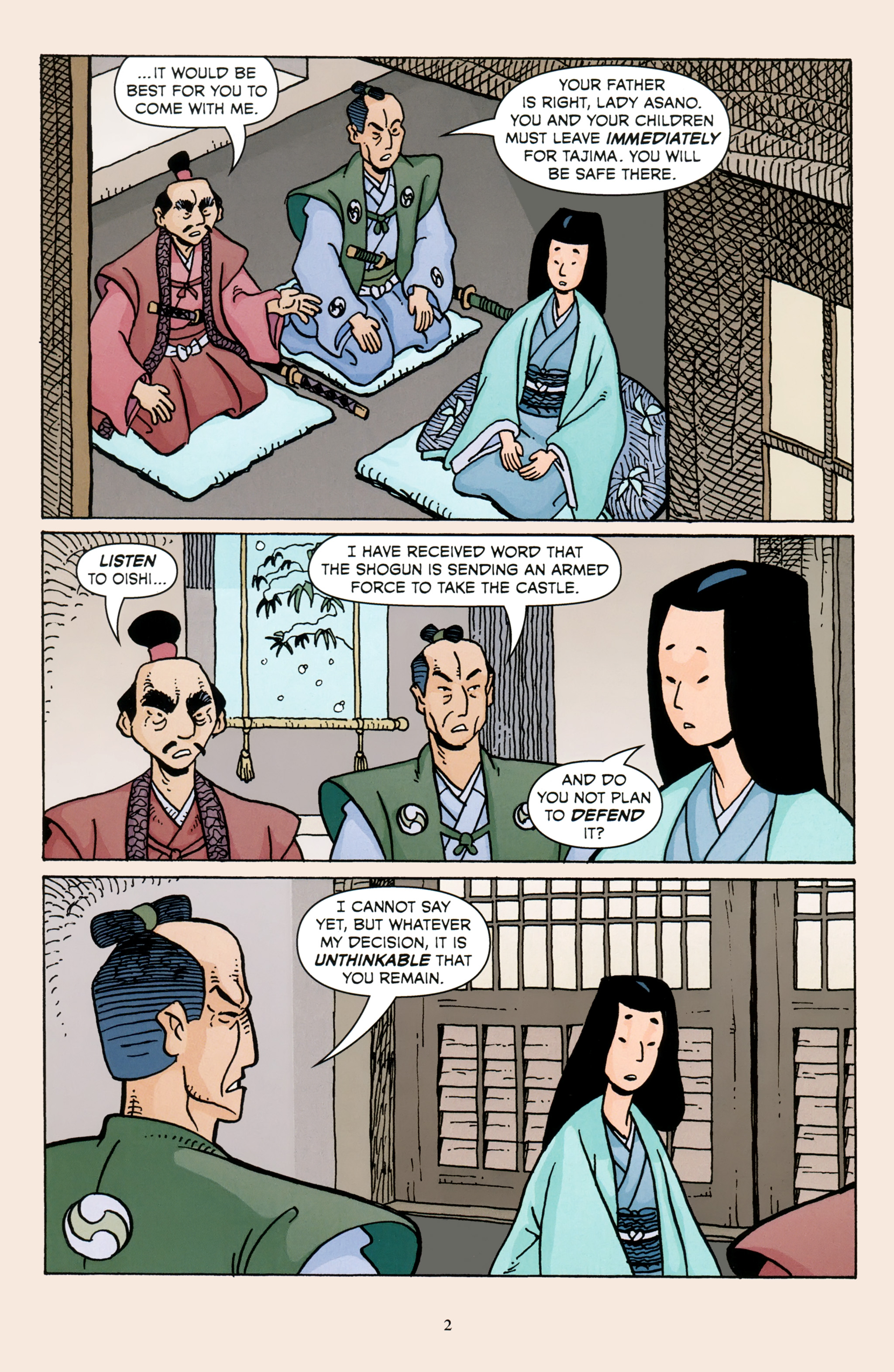 Read online 47 Ronin comic -  Issue #3 - 4