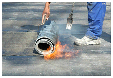 Mec Amp F Expert Engineers The Dangers Of Torch Down Roofing