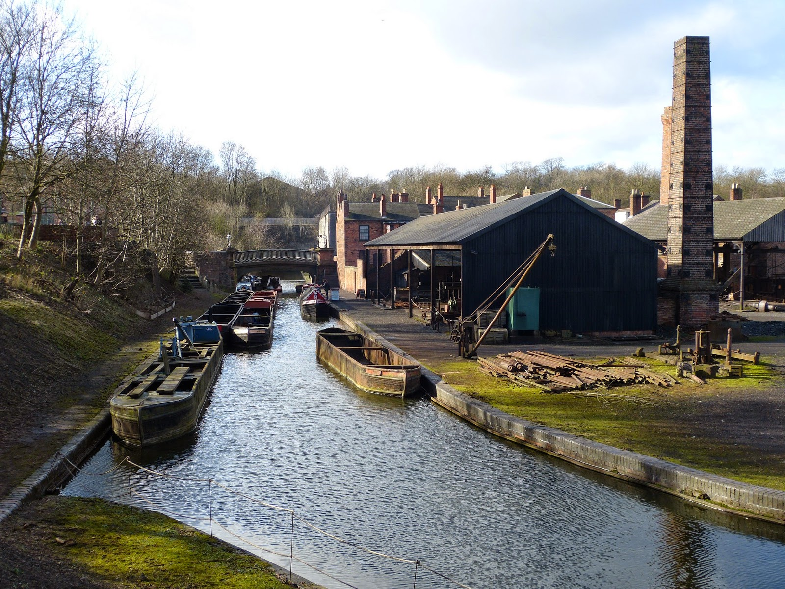 Canal at the Black Country Living Museum, Dudley