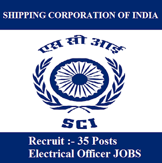 Shipping Corporation of India Limited, SCI, freejobalert, Sarkari Naukri, SCI Admit Card, Admit Card, sci logo