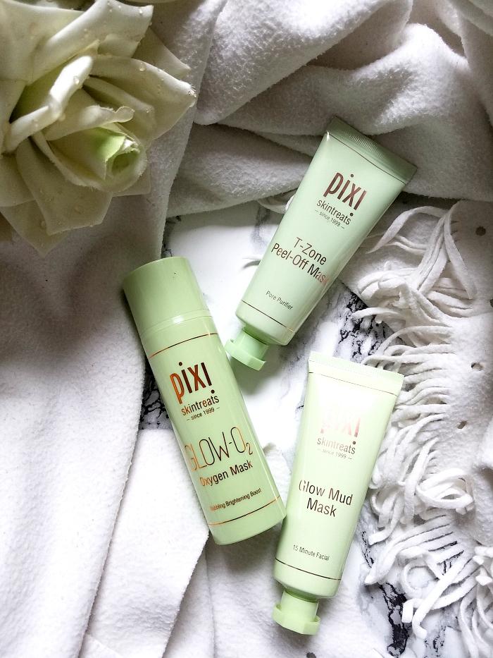 pixi Skintreats - 3 Masken für fahle und unreine Mischhaut review madame keke beauty blog