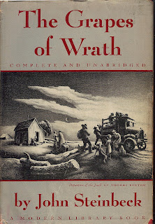 An analysis of main themes in the grapes of wrath by john steinbeck
