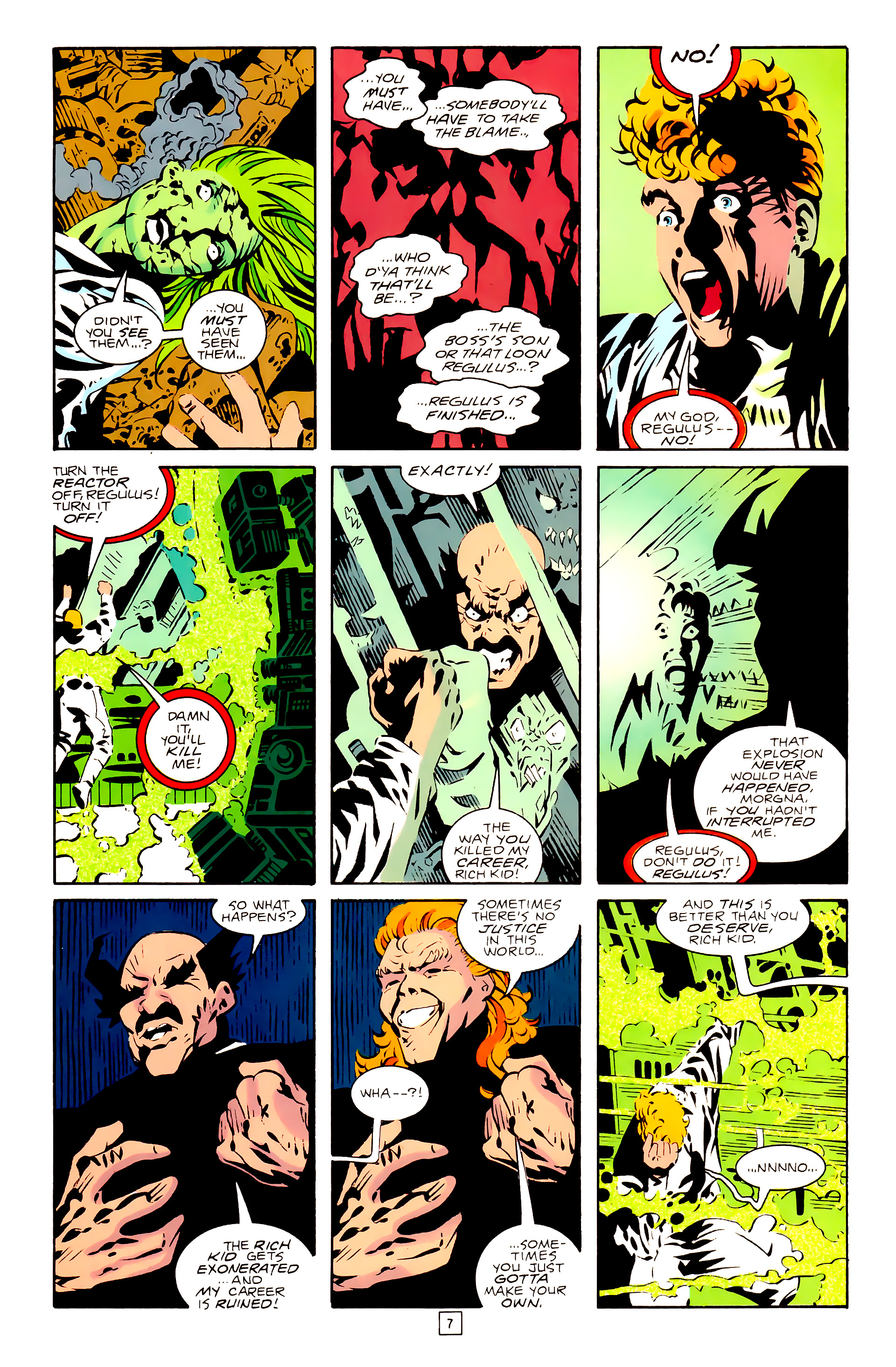 Legion of Super-Heroes (1989) 28 Page 7