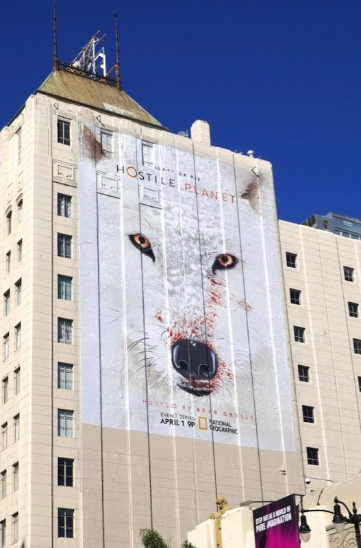 Hostile Planet series premiere billboard