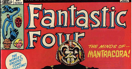 Marvel Comics of the 1980s: 1983: Fantastic Fouryage part II: Fade To Black 'n Blue