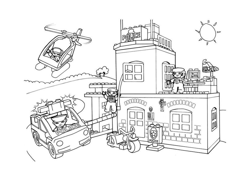 lego city ausmalbilder kostenlos  lego city zum ausmalen