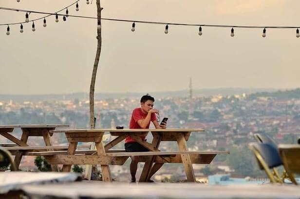 Teropong Kota Bandar Lampung