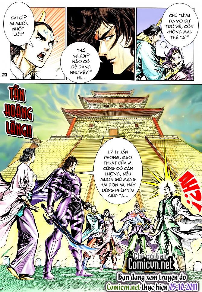 Đại Đường Uy Long chapter 44 trang 33