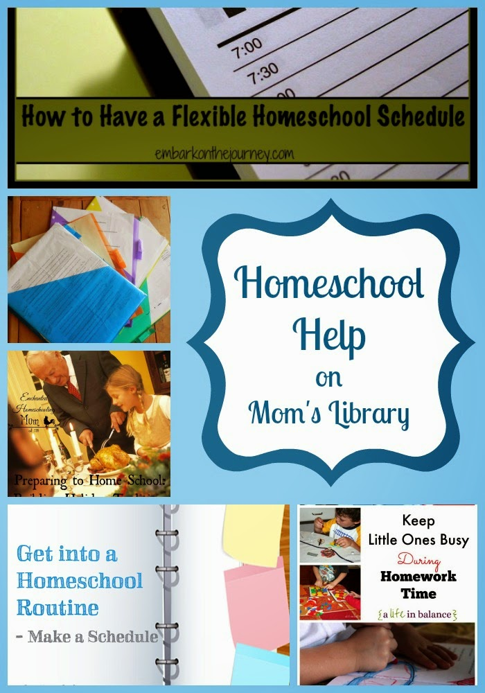 Homeschooling Help from Mom's Library