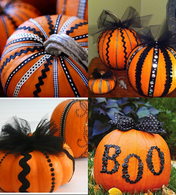 Halloween Decorated Door: Pop Culture And Fashion Magic: Halloween Pumpkins Carving