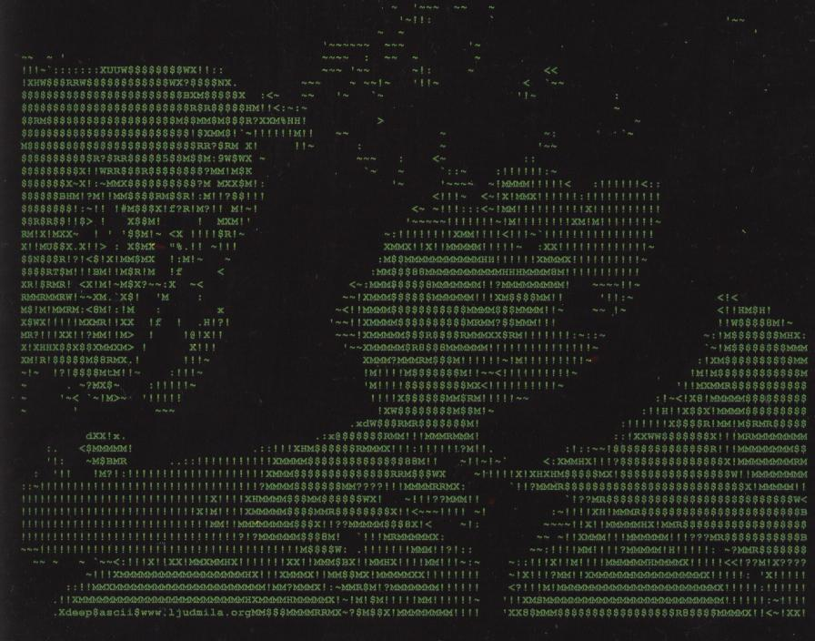 Ascii art pornography — 13
