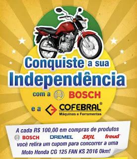 Promoção Bosch e Cofebral 2016
