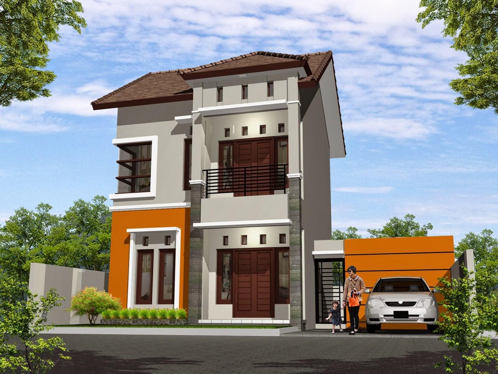 69 Desain Rumah Minimalis Modern 2 Lantai 2014