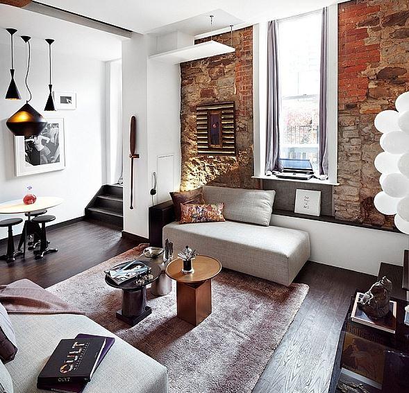 Desain Interior Ruang Tamu Minimalis Ruang Kecil Space Sempit Sederhana