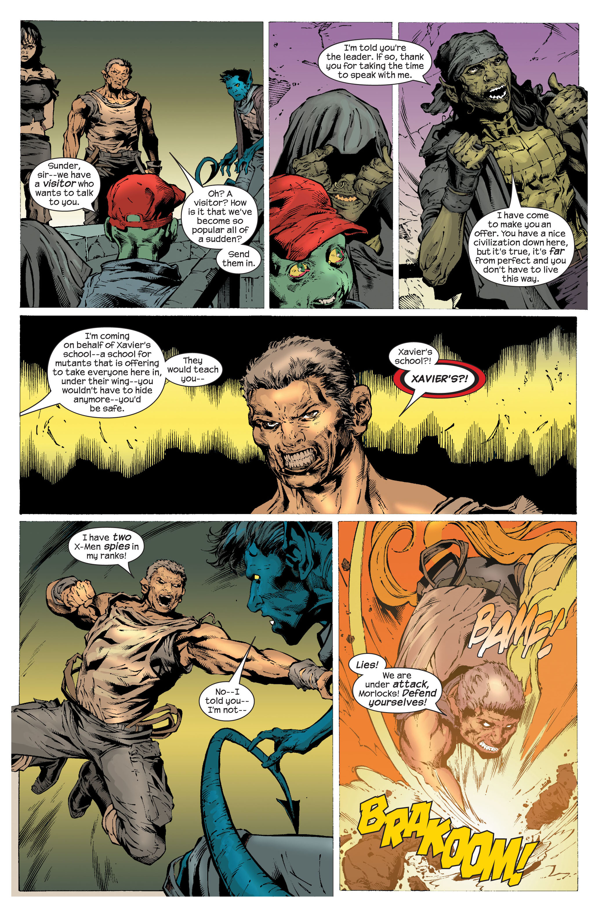 Read online Ultimate X-Men comic -  Issue #82 - 15