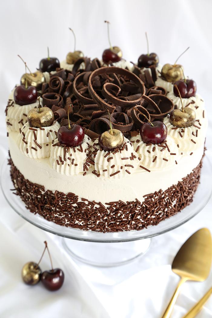 classic black forest cake sprinkle bakes