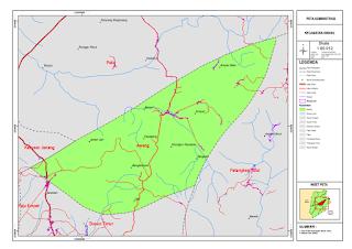 Peta Kecamatan Awang